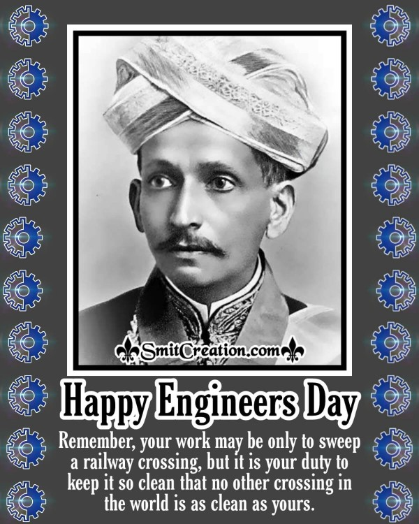 Happy Engineers Day Sir M Visvesvaraya's Teaching
