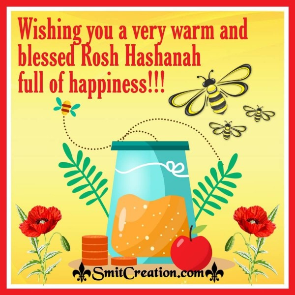 Wishing You A Very Warm And Blessed Rosh Hashanah