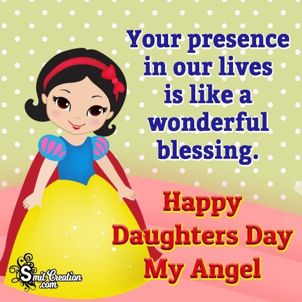 Happy Daughters Day My Angel