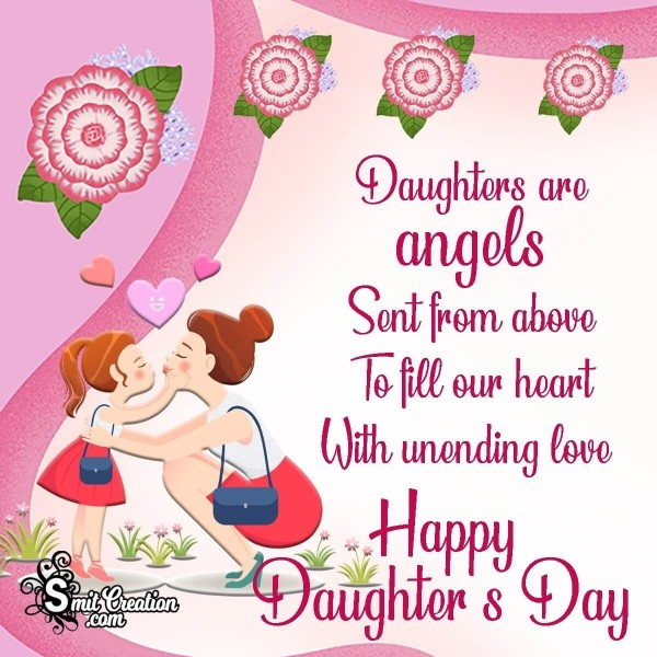 Happy Daughter's Day Message Image