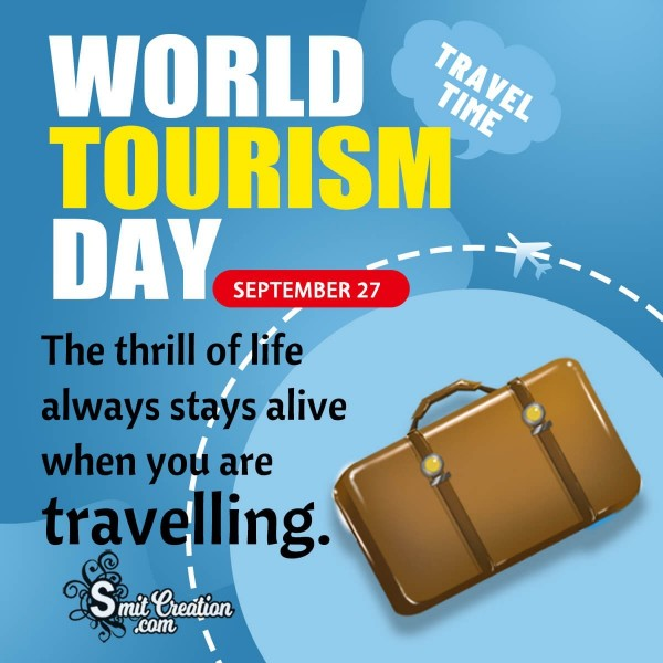 World Tourism Day Quote Pic