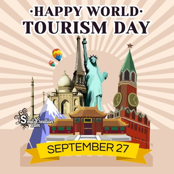 Happy World Tourism Day September 27