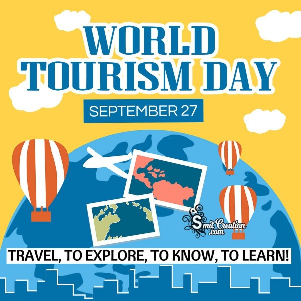 World Tourism Day September 27 Quote Pic