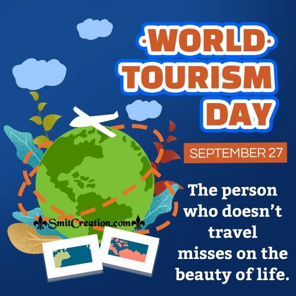 World Tourism Day Quote Picture
