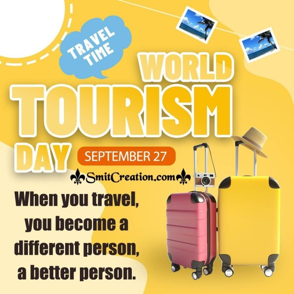 World Tourism Day Message Picture