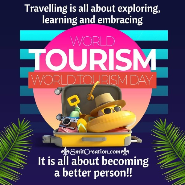 Send World Tourism Day Message Picture