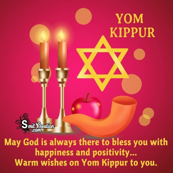 Warm Wishes On Yom Kippur To You