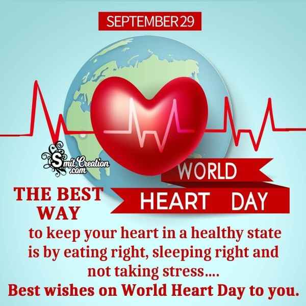Best World Heart Day Message