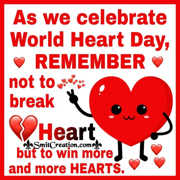 Celebrate World Heart Day