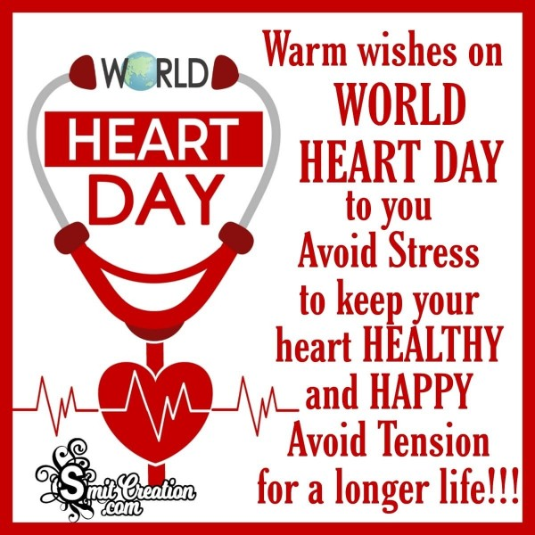 Warm Wishes On World Heart Day