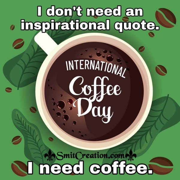 International Coffee Day Status