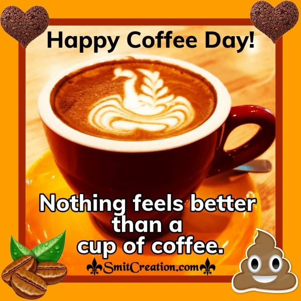 Happy Coffee Day Quote