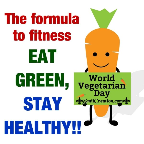 World  Vegetarian Day Message