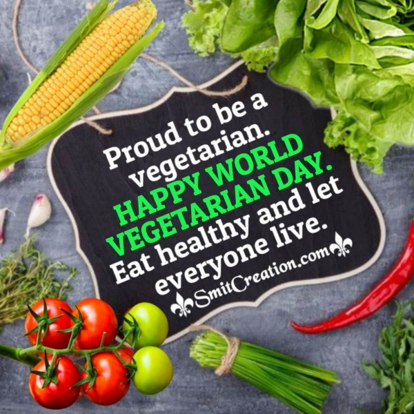Happy World  Vegetarian Day