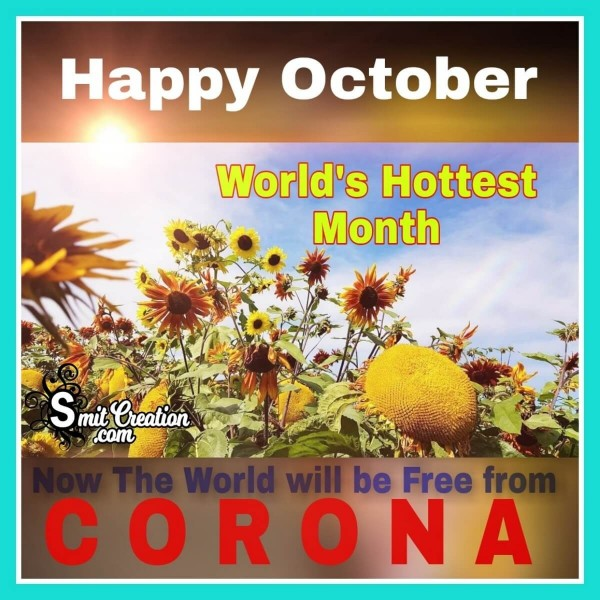 October World's Hottest Month