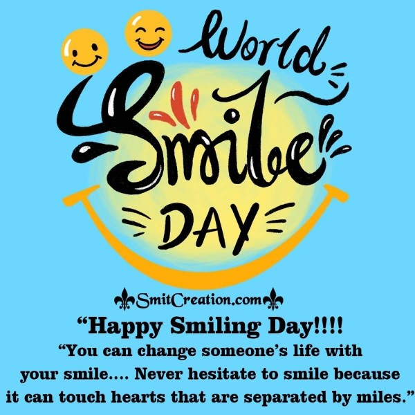 Happy Smiling Day Status