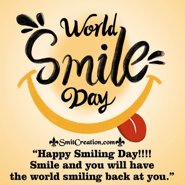 Happy Smiling Day Message