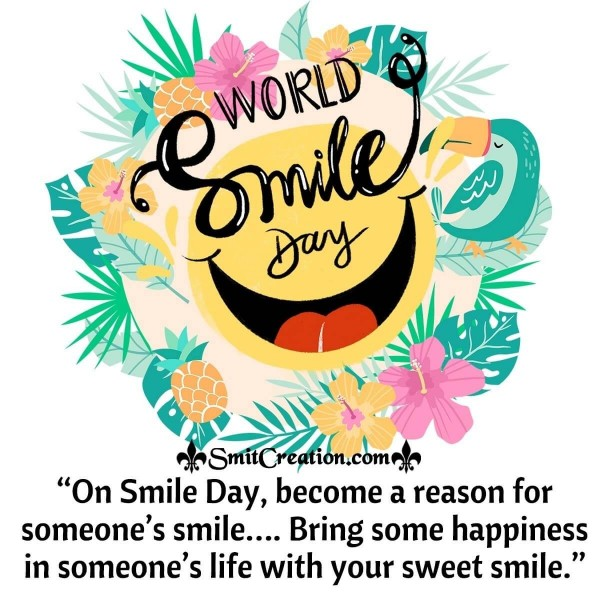 World Smile Day Message
