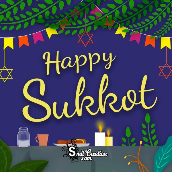 Happy Sukkot Celebration Image