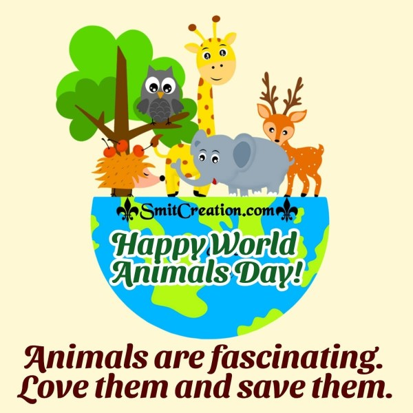 Happy World Animals Day Quote