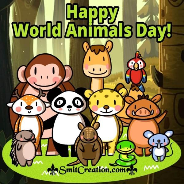 Happy World Animals Day Image