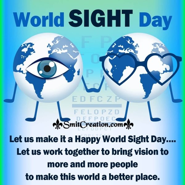 Happy World Sight Day Message