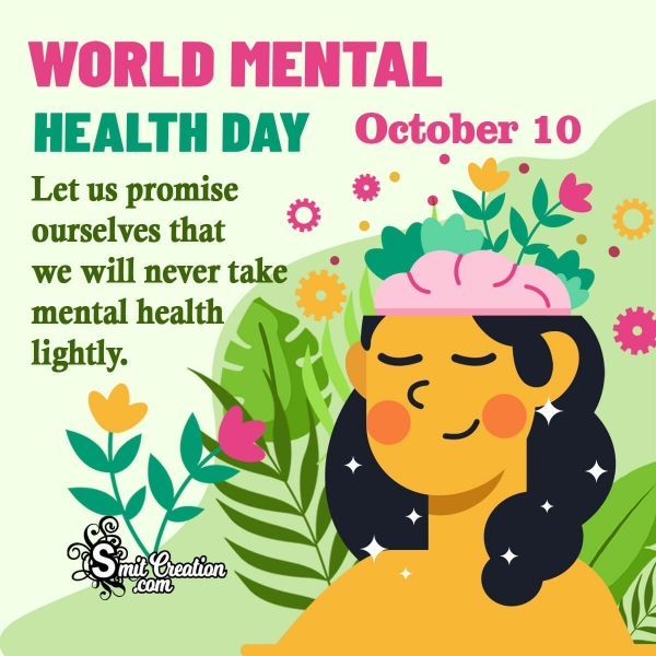 Warm Wishes On World Mental Health Day