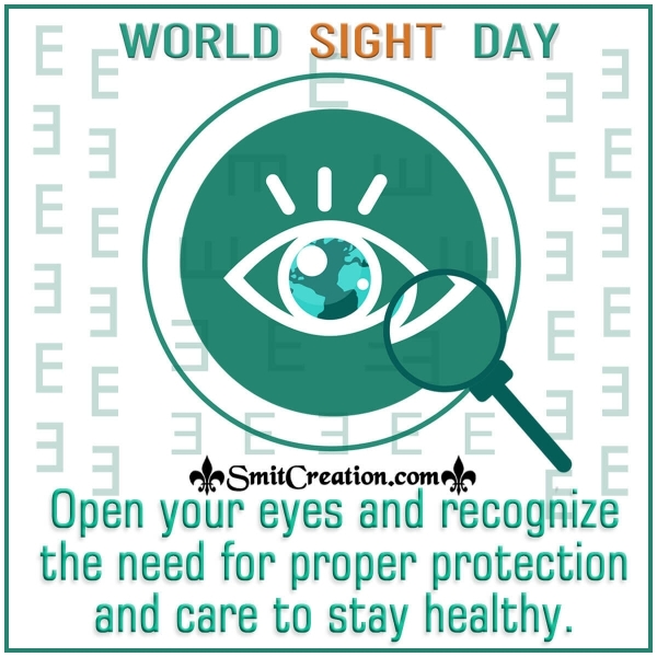 World Sight Day Caring Message