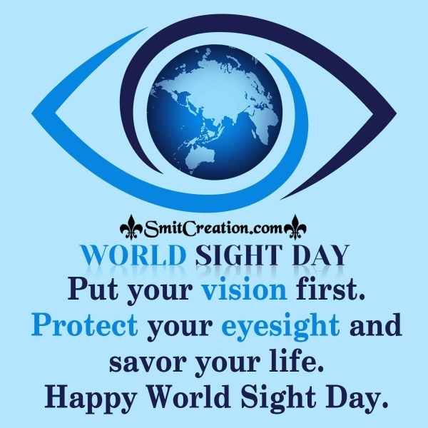 Happy World Sight Day Quote