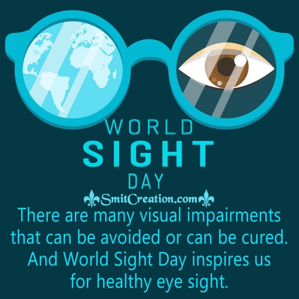 World Sight Day Inspiring Message