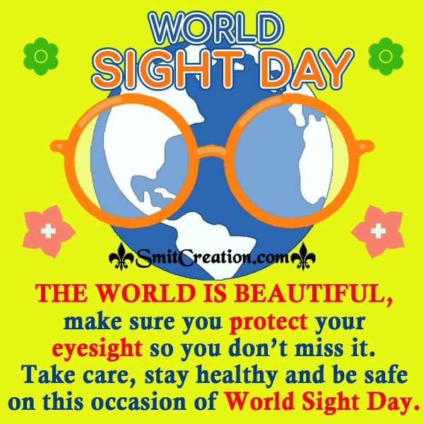 World Sight Day Wishes