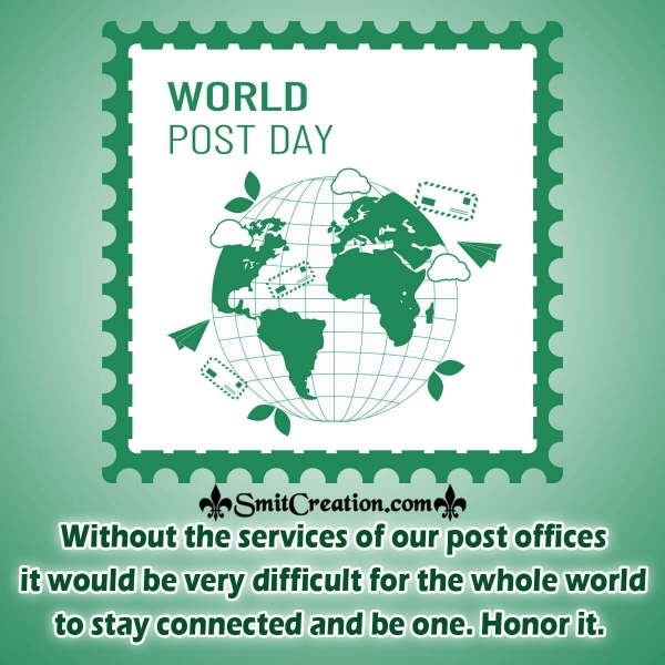 World Post Day Honor It