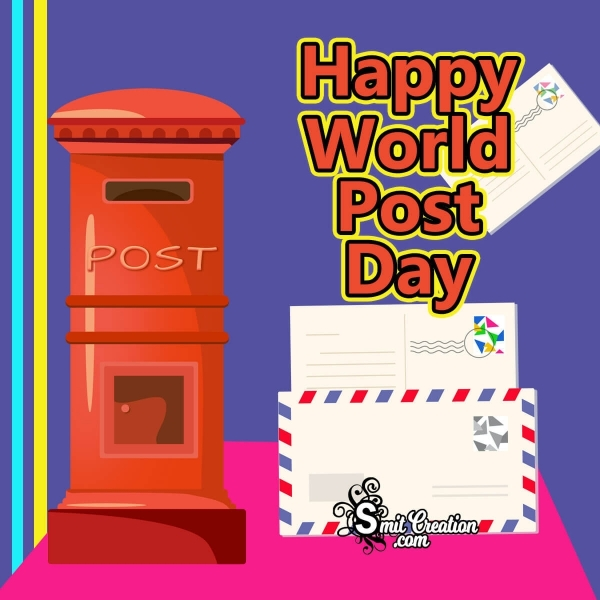 Happy World Post Day Image