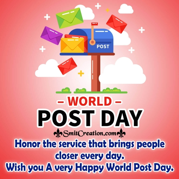 World Post Day Message Picture