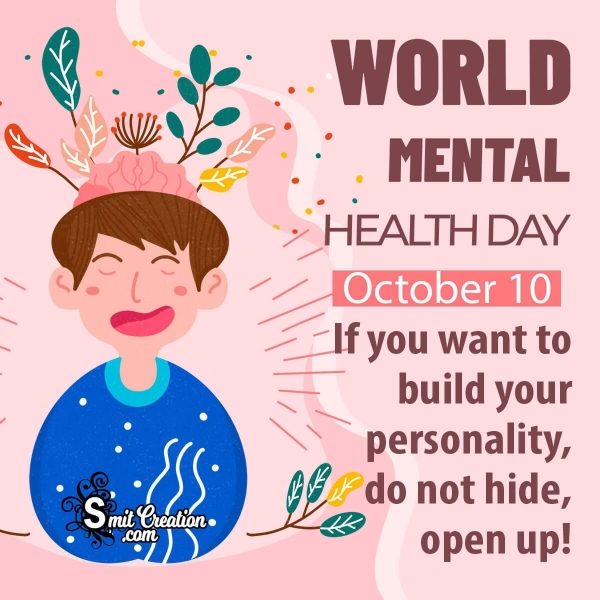 World Mental Health Day Message