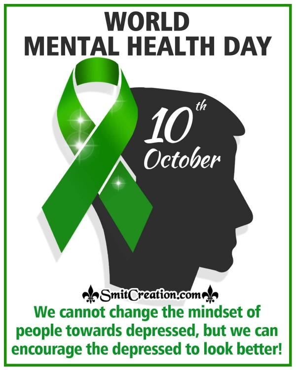 10 October World Mental Health Day