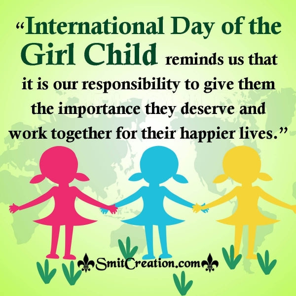 International Day of the Girls Child Message