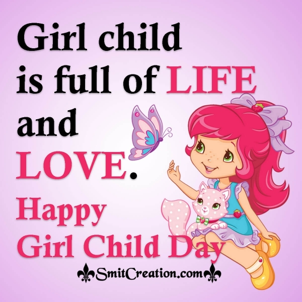 Girl Child Day Image