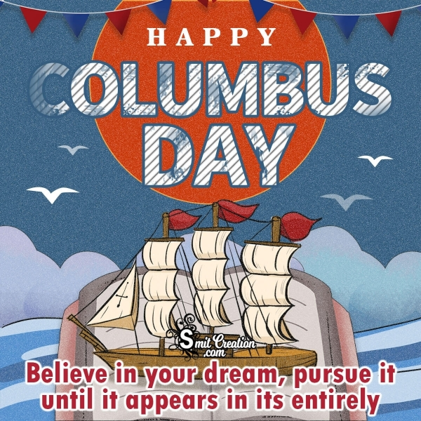 Happy Columbus Day Quote