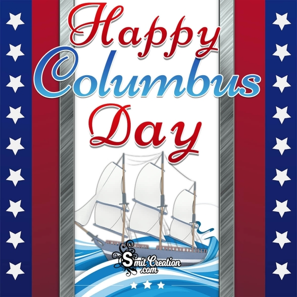 Happy Columbus Day Picture