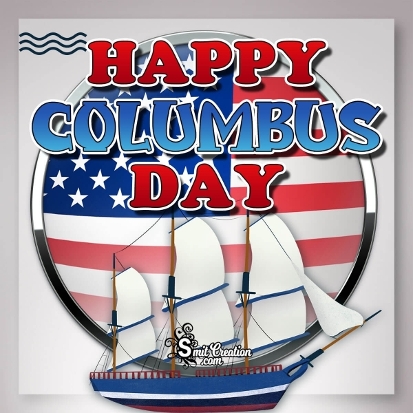 Happy Columbus Day Image