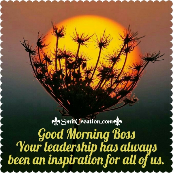 Good Morning Best Boss