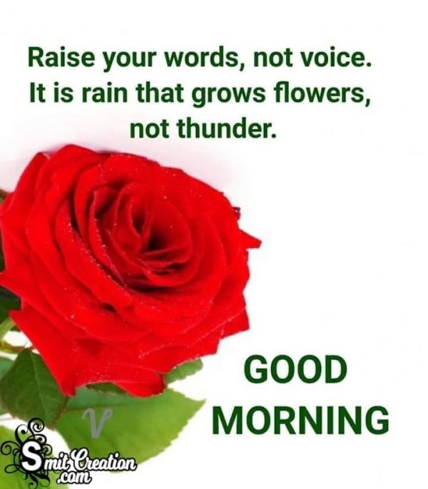 Good Morning Raise Your Words