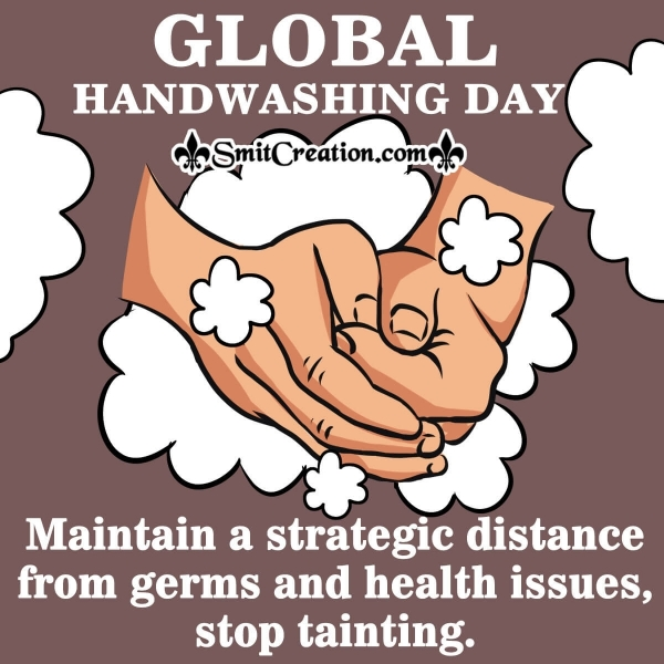 Global Handwashing Day Message