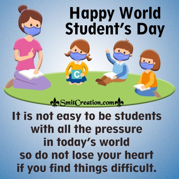 Happy World Student's Day Message