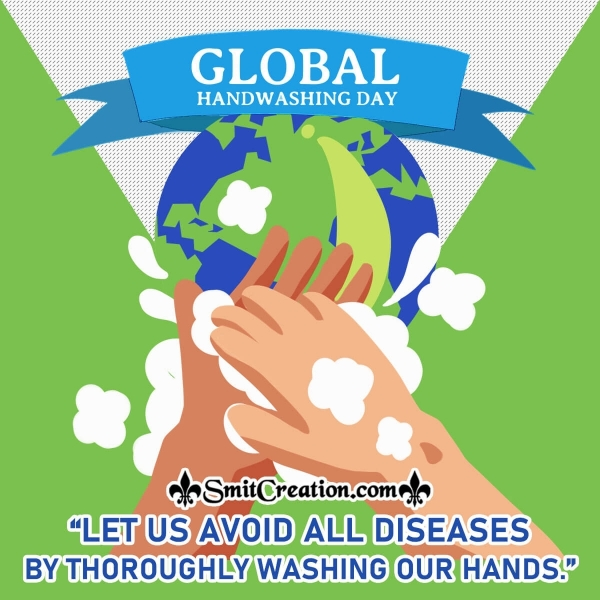 Global Handwashing Day Message Picture