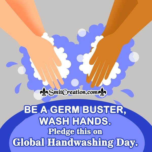 Global Handwashing Day Message Image