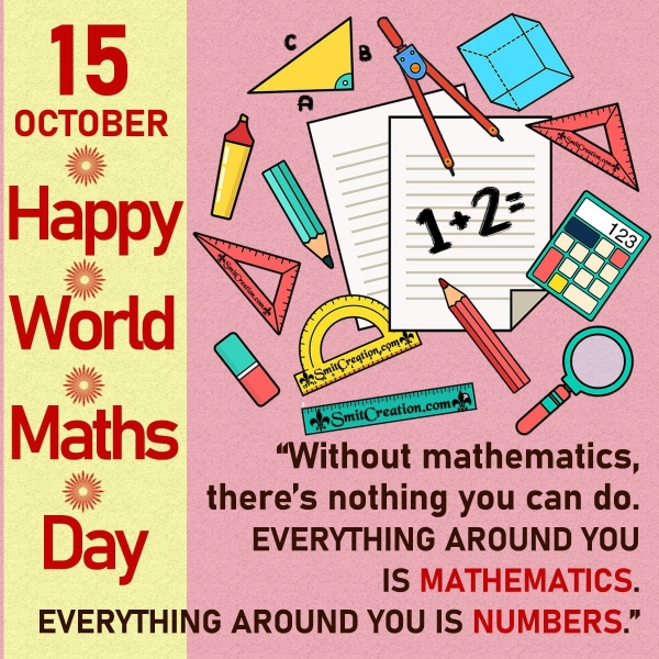 World Maths Day Wishes, Messages, Quotes Images