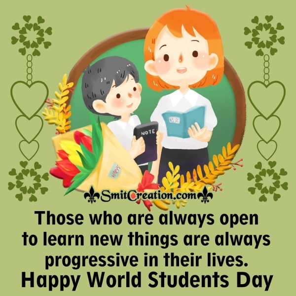 Warm Wishes On Students Day