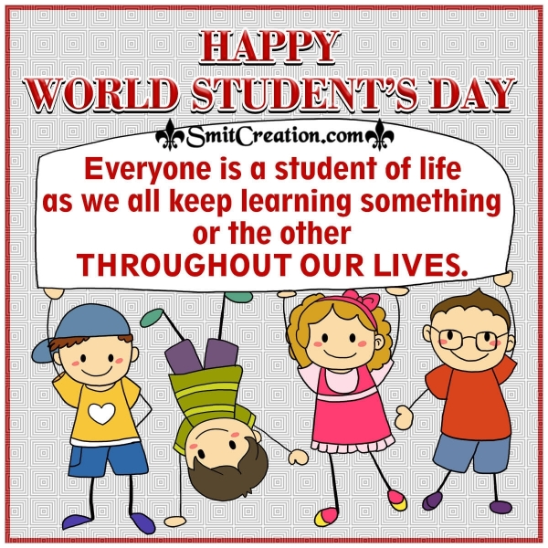 Happy World Students Day Quote